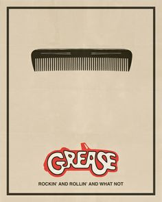 Grease - Minimalist Movie Poster Art Print