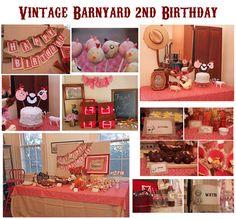 vintage barnyard party