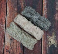 Chunky Headband Knitting Pattern by Purl Love