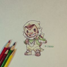Chespin in Chesnaught onesie by itsbirdy