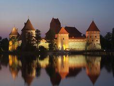Yes, please!!!    Trakai Castle   HOME SWEET WORLD