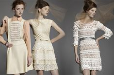 Dress Palermo / Dress Olivia Vanessa Montoro crochet dress