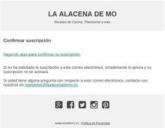 Alta suscripción - La Alacena de MO Pulsar, Deserts, Recipes, Cupboard Shelves, Trays, Entryway, Thermomix