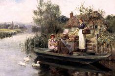 The Journey Home ~ Henry John Yeend King ~ (English: 1855-1924)
