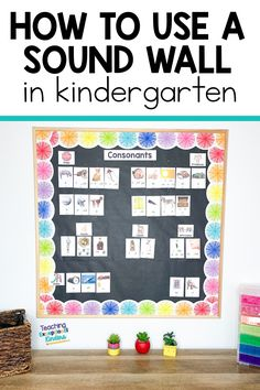 How to Use a Sound Wall in the Kindergarten Classroom