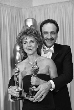 "57th Academy Awards® (1985) ~ The Best Leading Actress Oscar® went to Sally Field for her performance in ""Places in the Heart"" (1984) and F. Murray Abraham for his performance in ""Amadeus"" (1984)"