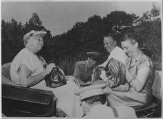 With Eleanor Roosevelt