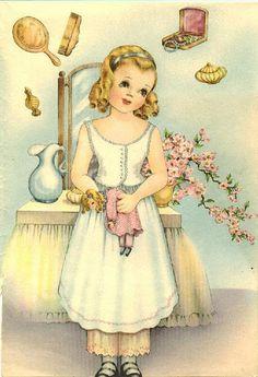 """Susan"" by Helen Page | Gabi's Paper Dolls"