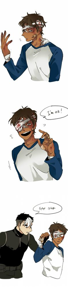 Shiro | Lance Pretty sure Lance will act this way in season 2