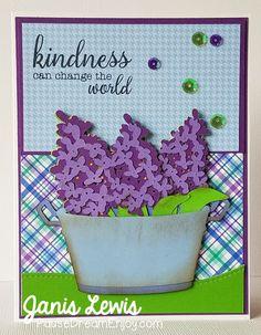 Close To My Heart, Cricut, Flower Market Cartridge
