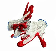 김포 길 미술학원에서 준비한 개체 묘사 입니다. 이번 기초디자인 개체 소재는 목장갑입니다. 재...