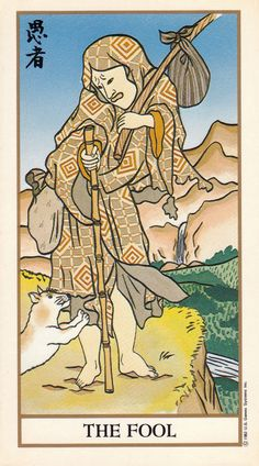 The Fool - Ukiyoe Tarot