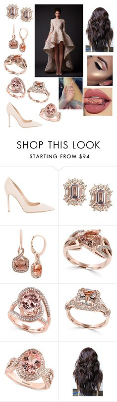 """""""Untitled #2883"""" by vanessa898 ❤ liked on Polyvore featuring Gianvito Rossi and Effy Jewelry"""