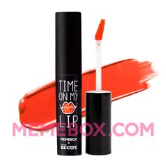 Time on My Lip Coral.  Time on My Lip is a tint, gloss, lipstick in one bottle.