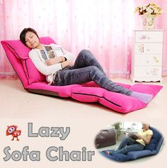 [S$49.90][MULTIFOLD LAZY SOFA] Adjustable Foldable Lazy Sofa Floor Chair Bed * Christmas Gift * Comfortable * [TVADS TV-ADS]