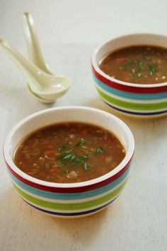 Vegetable Hot and sour soup recipe (Indian-Chinese Recipe)