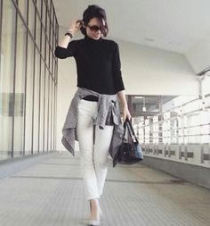 【コーデ】ギンガムチェックシャツを大人っぽく着るコツ  TOKYO BASE ー大人のプチプラコーデブログー