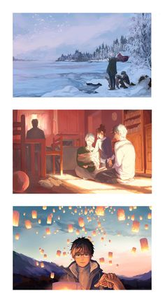 Find images and videos about anime, viktor nikiforov and yuri! on ice on We Heart It - the app to get lost in what you love. Yuri No Gelo, Yuri X Victor, Animal Crossing, Manhwa, Yuri On Ice Comic, Anime Faces Expressions, Katsuki Yuri, Viktor Nikiforov, Skate