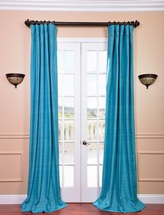 Living room drapes.  I love this color!