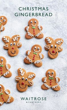 Cute little gingerbread men and reindeer are perfect gifts to give someone at Christmas. Top tip: just turn your gingerbread man upside down for the reindeer shape! See the full recipe on the Waitrose website
