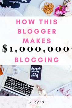 Michelle consistently makes $50,000 a month with affiliate marketing.I was inspired by her income reports. Her course making sense of affiliate marketing explains step by step how she makes at least $50,000 a month with blogging and how to earn money with blogging when you don't have a massive following.