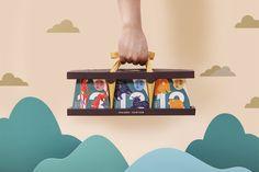 Victor Branding Design Corp   美可特品牌設計 » 陝拾叄中秋就是要核你在一起 Takeaway Packaging, Brand Packaging, Tea Packing Design, Kirigami Templates, Chinese New Year Design, Luxury Packaging, Graphic Design Layouts, Art Lesson Plans, Advertising Design
