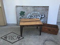 "<3 Handmade Furniture Industrial Loft ""Sewing Factory"" Coffee Table"