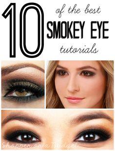 10 of the Best Smokey Eye Tutorials on ShopperOnABudget.com