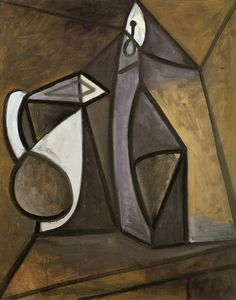 "Pablo Picasso - ""Pitcher and candlestick"", 1945"