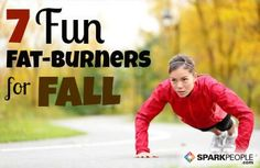 7 Fun Fat-Burners for Fall | via @SparkPeople #fitness #fall #health #workout #exercise