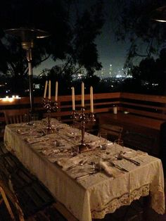 Secret Dining Event in Hollywood!