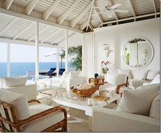 Ralph Lauren's  Jamaican beach cottage.