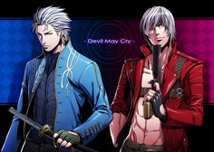 Devil May Cry. Hot anime babes threaten to replace real men.