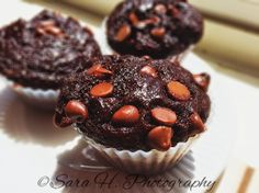 Seeking Jesus: Wholesome (and healthy!) Double Chocolate Muffins