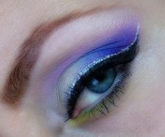 Eye Makeup - #eyeshadow #colorshadow #colorfulshadow #makeup #eyemakeup #eyes #purpleshadow - bellashoot.com
