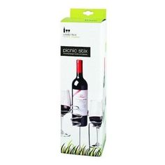 Picnic-Sticks-Wine-Bottle-Glass-Holder-Champagne-Concert-Outdoor-Ground-Stakes