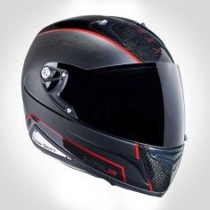 NEXX XR1R CARBON HELMET - BLACK / RED
