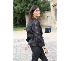 La rédactrice en chef de Vogue Paris, Emmanuelle Alt