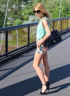Czech Chicks: The Bridge - Love the shorts!