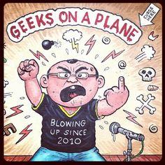 Geeks on a Plane! Startups, Geeks, Plane, Geek Stuff, Geek Things, Aircraft, Geek, Airplanes, Airplane