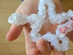 Cool project from www.kiwicrate.com/diy: Borax Snowflakes