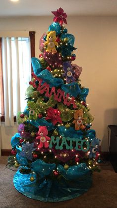 Trolls Christmas Tree Christmas Tree Ideas Pinterest