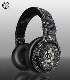 Dr Dre Detox Pro headsets smeared with Swarovski crystals are up for grabs