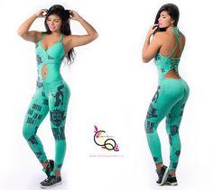 Enterizo Deportivo Mujer Ref. Lycra Leggings, Estilo Fitness, Gym Wear, Athletic Wear, Sport Girl, Workout Wear, Sports Women, Short, Pull