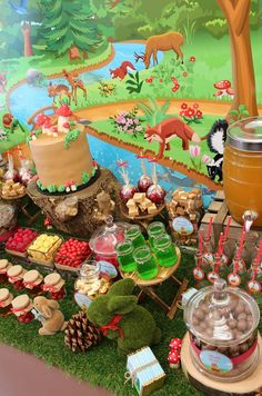 Little Big Company The Blog: Super cute Woodland party by Sweet Daisy Event styling