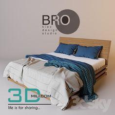 awesome 115. Bed 115 3D Models Free Download Download here: http://3dmili.com/furniture/bed/115-bed-115-3d-models-free-download.html