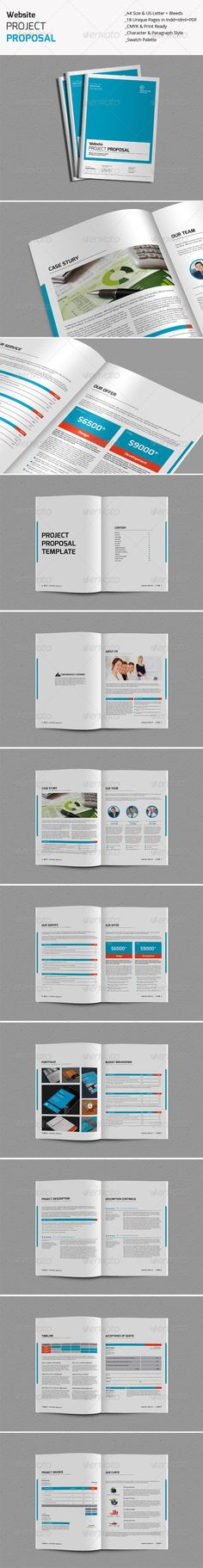 Web Design Proposal  Proposals Proposal Templates And Brochures
