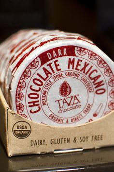 Taza Chocolate - made in Somerville - tour the factory at http://bit.ly/sFQcnD