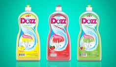 packaging super dozz by khaled abdelaziz, via Behance