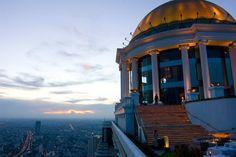 Capturing Bangkok from up high.